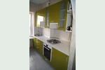 Фото оливковой кухни в современном стиле