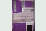 Кухни в хрущевку - каталог фотографий: дизайн Sidak, МДФ очень маленькая кухня