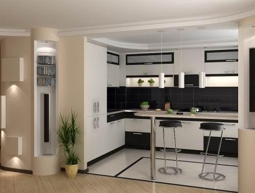 новая мебель кухни