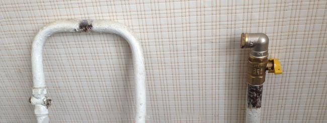 Обрезать газовую трубу своими