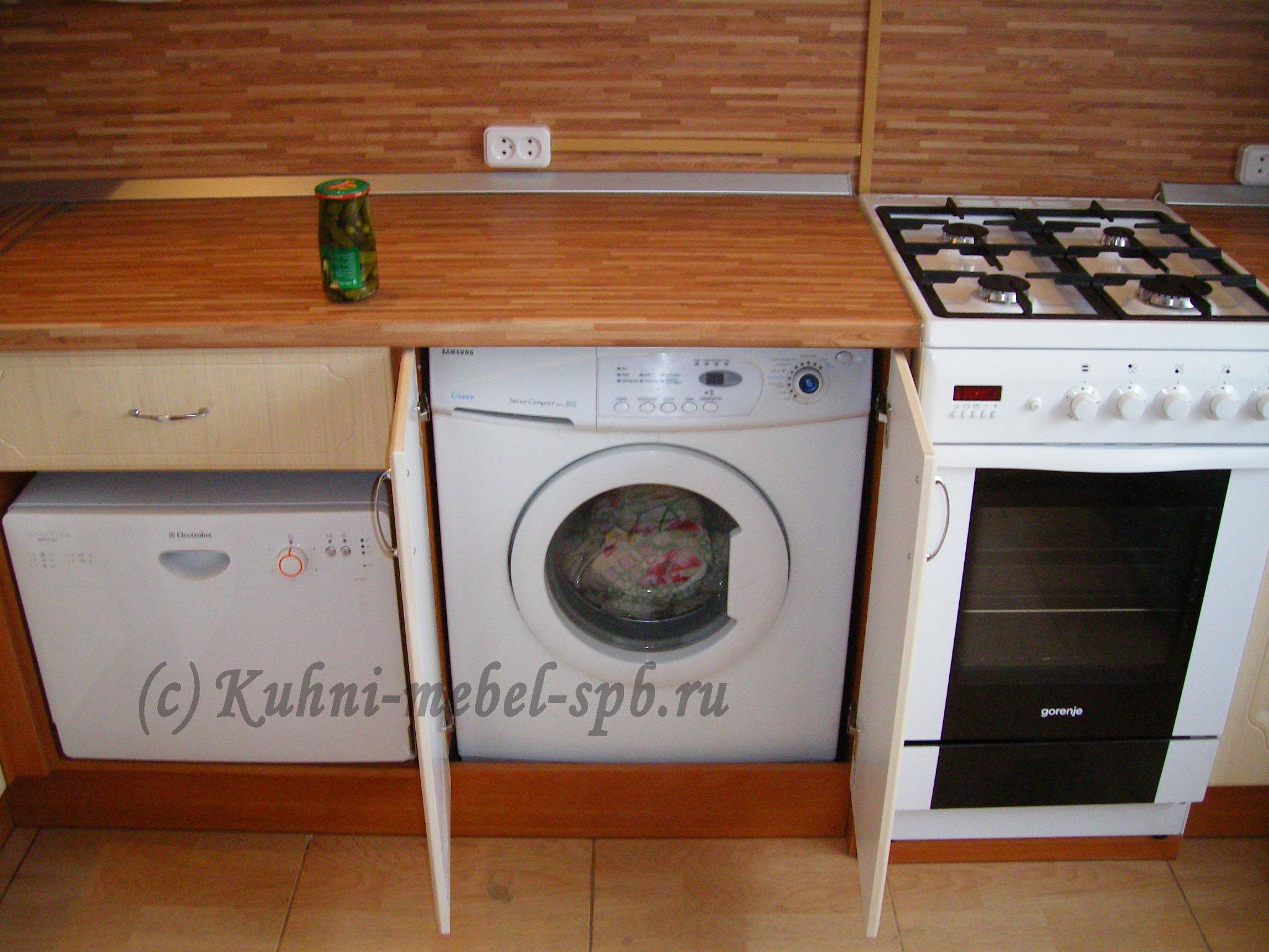 Встроить посудомоечную машину своими руками